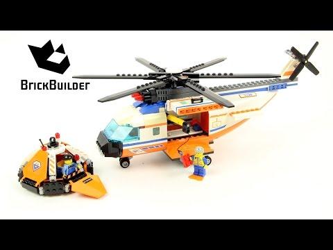 Lego City 7738 Coast Guard Helicopter & Life Raft - Lego Speed Build -  YouTube