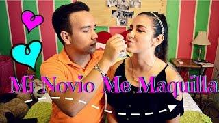 MI NOVIO ME MAQUILLA ❤!! /MY BOYFRIEND DOES MY MAKEUP ♡ | Priscila Thumbnail