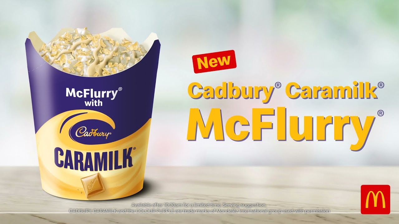 The New Cadbury Caramilk McFlurry!