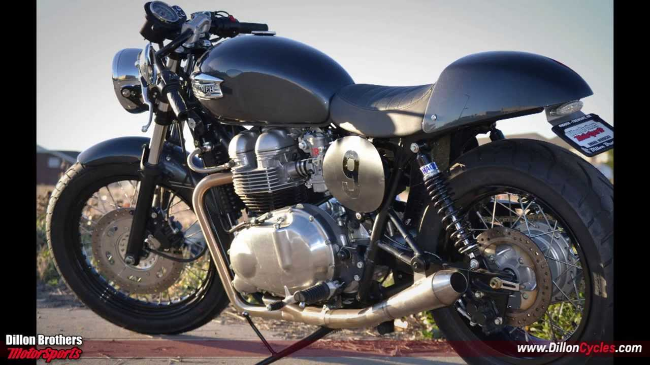 Dillon Brothers Motorsports Triumph Bonneville Custom Cafe Racer Omaha You