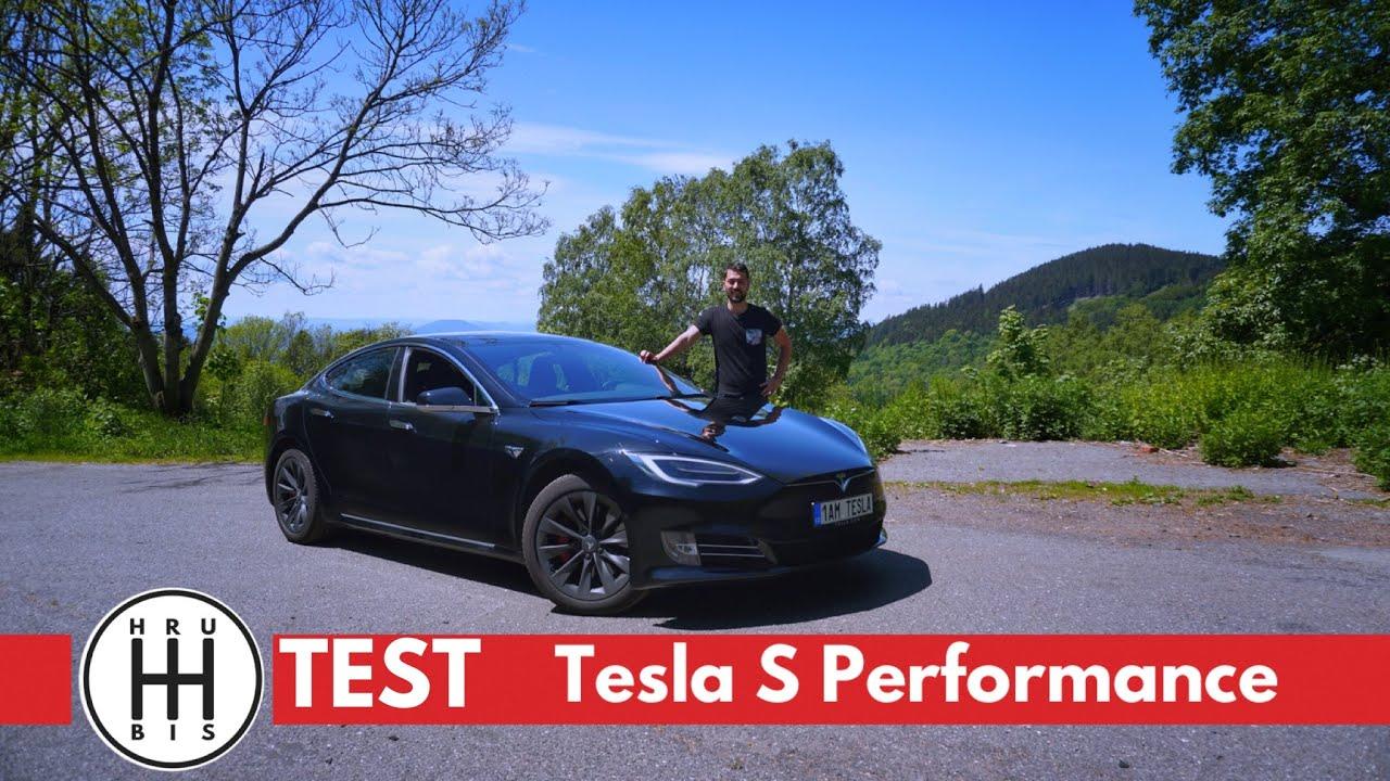 TEST Tesla Model S Performance (800 koní) CZ/SK