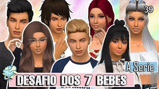 PRIMEIRO DIA DE TRABALHO || DESAFIO DOS 7 BEBÊS THE SIMS 4 #39
