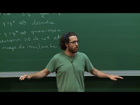 Joseba Dalmau - La distribution de la quasi-espèce
