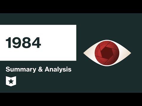 1984   Summary & Analysis   George Orwell