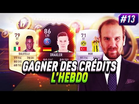 FIFA 17 - COMBOS TECH 59, UPGRADE, OTW -  GAGNER DES CREDITS L HEBDO EPISODE 13