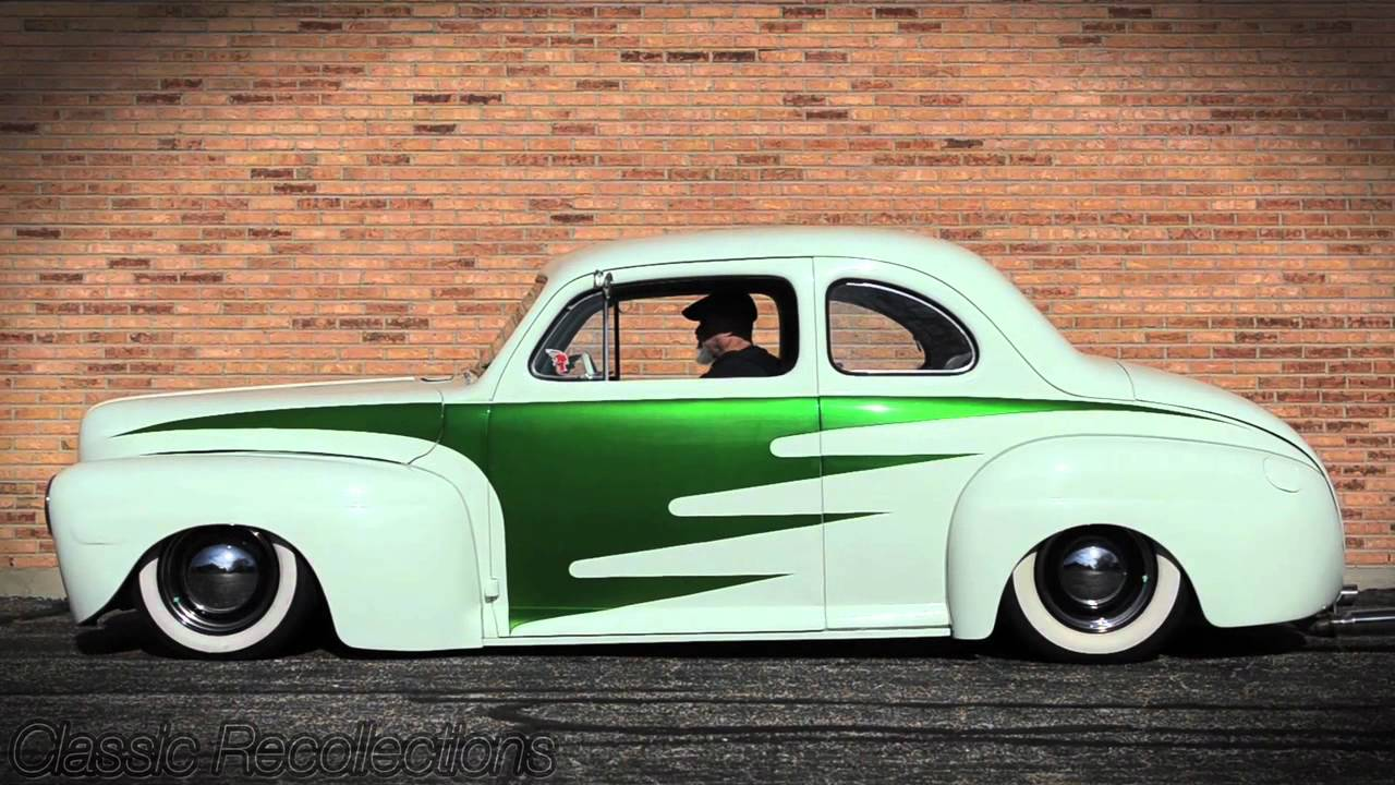 Classic Recollections 1946 Ford Coupe Custom Youtube