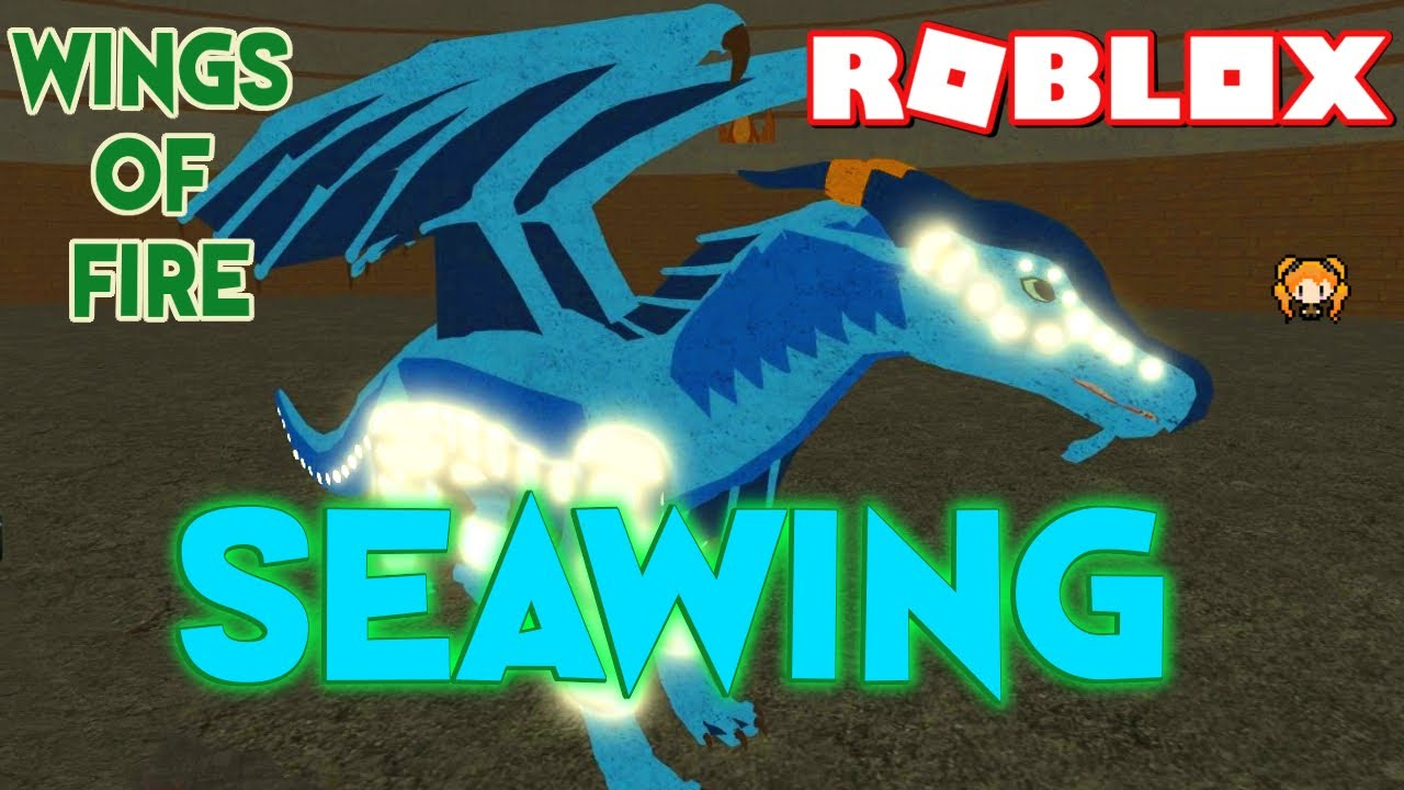 Roblox Wings Of Fire Seawing How To Get Neon And Communicate