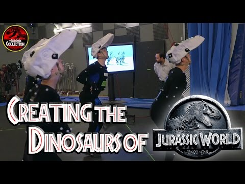Creating the Dinosaurs of JURASSIC WORLD | Behind the Scenes | Chris Pratt
