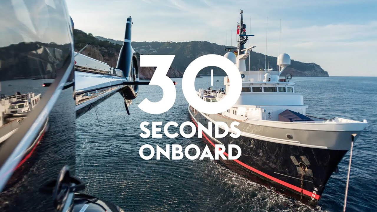 30 Seconds On Board The World S Coolest Yacht Videos Boat