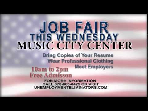 Unemployment Eliminators Job Fair in Nashville