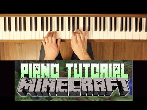 Subwoofer Melody (Minecraft: Volume Alpha) [Intermediate Piano Tutorial]