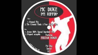 MC Duke: I