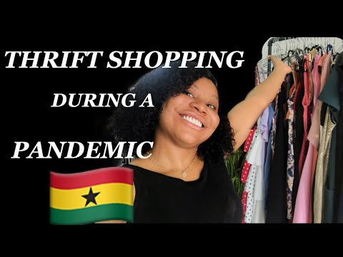 THRIFT WITH ME 🇬🇭 VLOG|SHOPPING IN ACCRA GHANA|comethriftwithme,ghanavlog