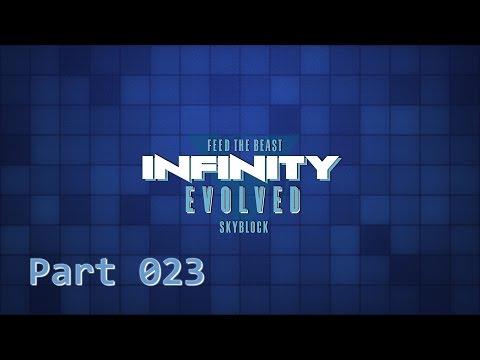 FTB Infinity Evolved Skyblock - 023 Wispy Essence Verarbeitung ★ GERMAN Let's Play