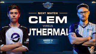 Clem vs uThermal - WCS Challenger 2018 Season 2 – EU