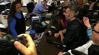 Kentucky county clerk locked up for denying same sex marriage licenses