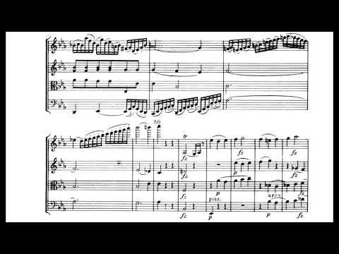 Haydn - String Quartet, Op. 76, No. 4 (score)