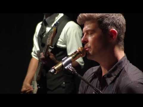 "Robin Thicke - ""Dreamworld"" live from Interscope Introducing"