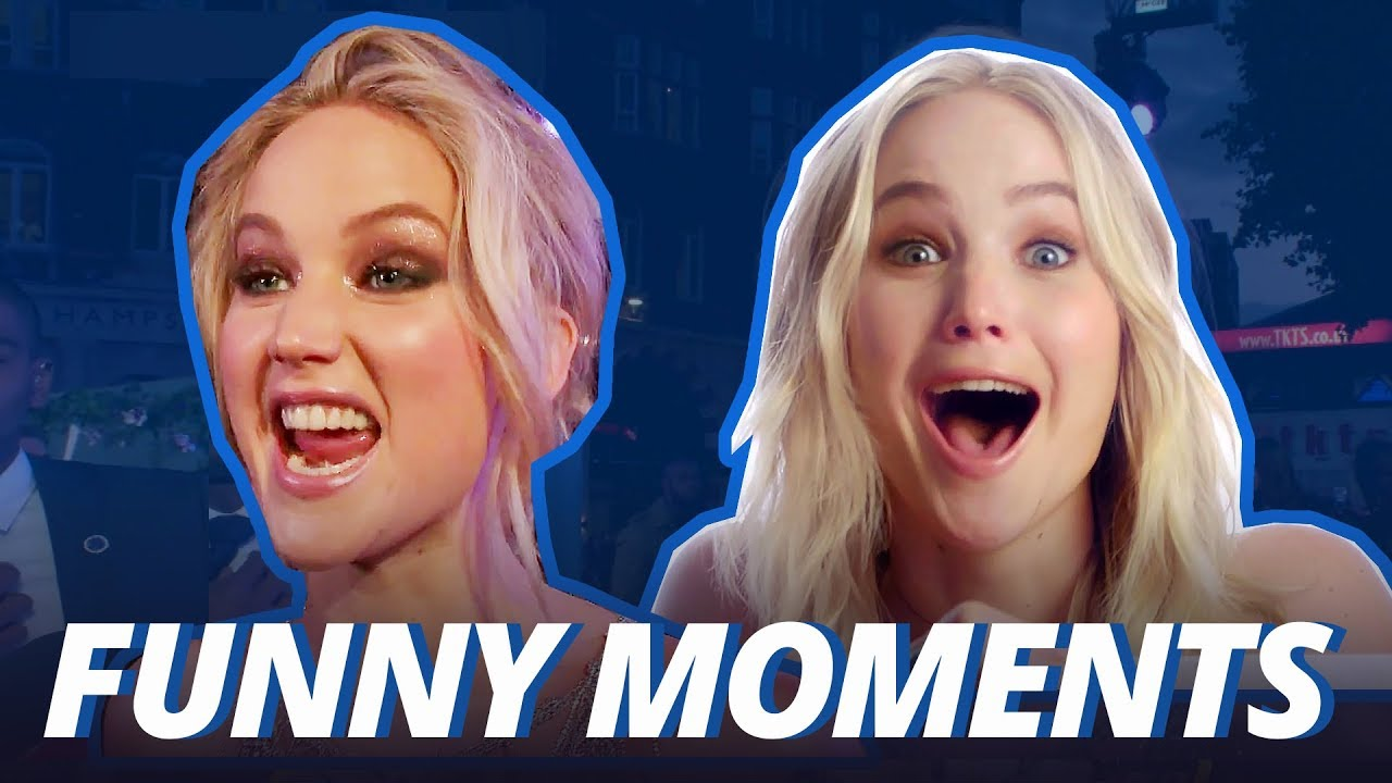 JENNIFER LAWRENCE IS FUNNY AS F*CK!!! (Funny Moments 2017)