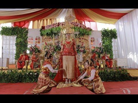 Tari Sigeh Pengunten Wedding Nisa & Dwi