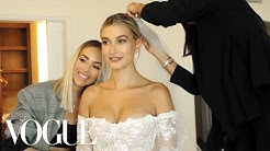 Inside Hailey Bieber's Wedding Dress Fitting | Vogue