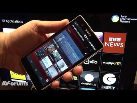 Sony Smart TV System 2013