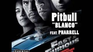 Pitbull Feat. Pharrell - Blanco WITH LYRICS!