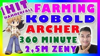 FARMING ZENY WHITESMITH 360 MINUTE GET 2,5M ZENY 1HIT HAMMERFALL RAGNAROK MOBILE ETERNAL ...