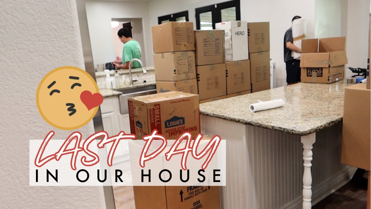 LAST DAY IN OUR HOUSE! MOVING VLOG + MORE FUN AT THE KALAHARI   Aaryn Williams