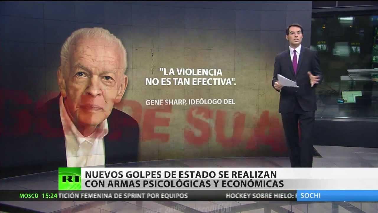 Resultado de imagen de Las operaciones de guerra no convencional que se están aplicando en Venezuela tienen su origen en los manuales del golpe suave, creados por Gene Sharp.