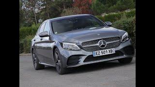 Essai Mercedes Classe C 220d 9G-Tronic AMG Line 2018