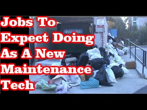 Jobs To Expect Doing As A New Maintenance Technician
