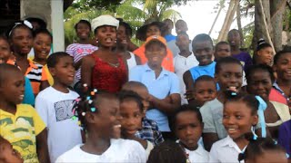 Anna Kendrick's Cups Pitch Perfect  Sung in Creole  by Haitian School Children