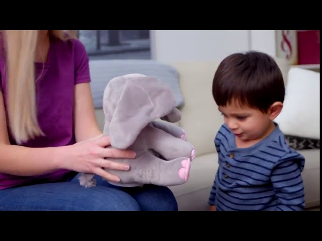 Commercial Video - Dimple Plush Elephant⠀