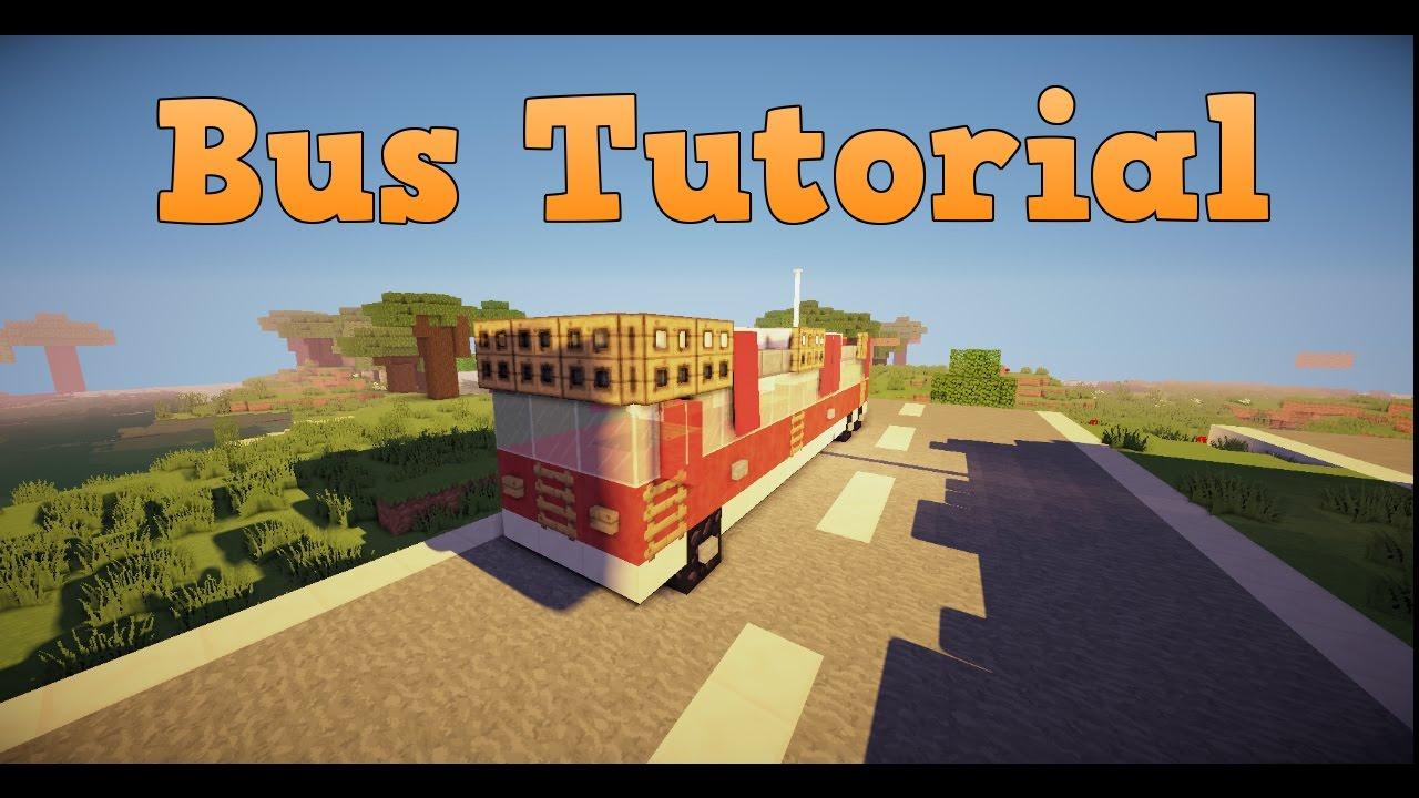 minecraft tutorial bus bauen youtube. Black Bedroom Furniture Sets. Home Design Ideas