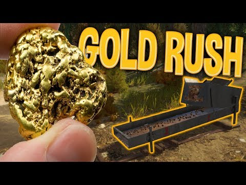 My Gold Mining Operation - First Gold Bar! | Gold Rush The G