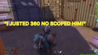 BEST SNIPER SHOOTOUT PLAYS- Fortnite Funny moments #4