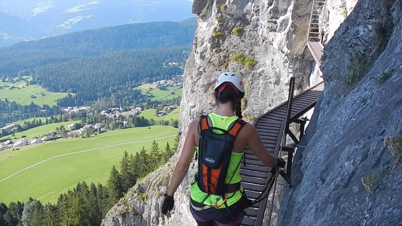 Klettersteig Pinut : Pinut klettersteig youtube