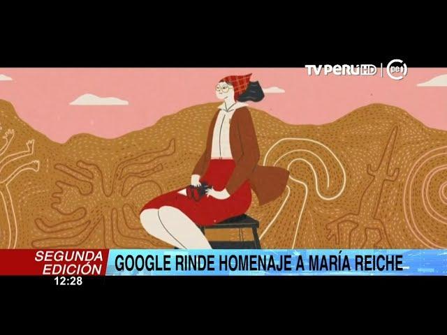 Google rinde homenaje a María Reiche, la protectora de las Líneas de Nasca