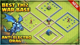Best Th12 War Base 2019 3 Infernos Anti e Drag anti bat spell anti 3 star CWL | Clash of Clans