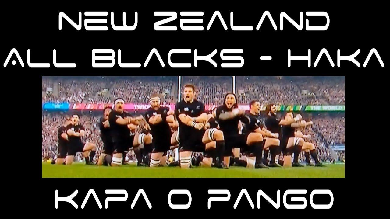 New Zeland All Blacks Haka - Kapa O Pango + Lyrics ...