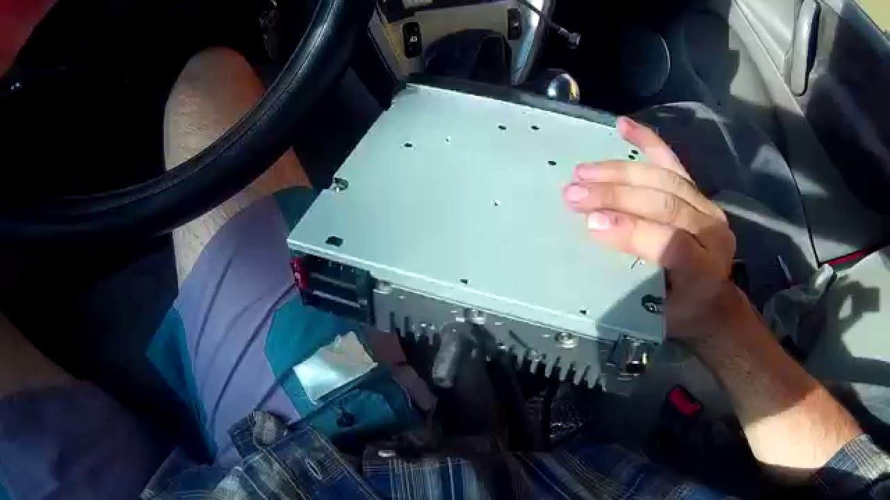 How To Remove Factory Radio-cd  Xsara Picasso 2000