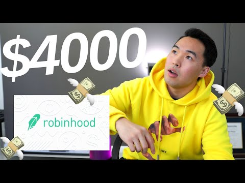 How I Made $4000 Portfolio - Dividends Investing with Robinhood App 2019