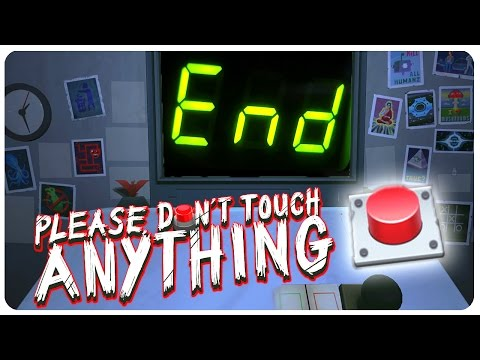 The EXPLOSIVE End! ( ͡° ͜ʖ ͡°)   Please Don't Touch Anything 3D Gameplay Ending