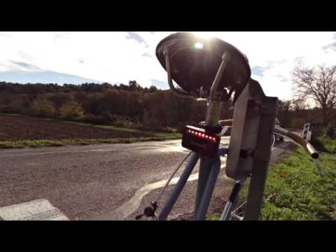 Test du radar Garmin Varia