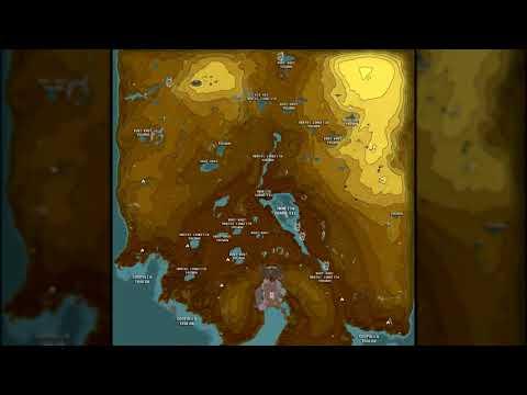 Warframe - Plains of Eidolon Resource / Point of Interest Map