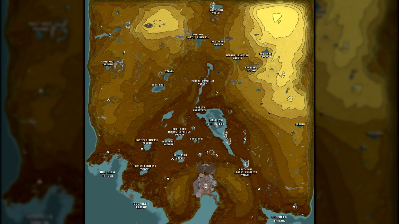 the full warframe fishing map gameratedgames