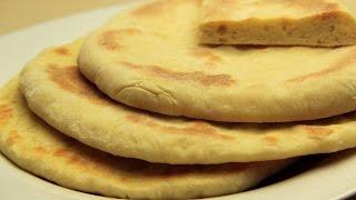 Sade Bazlama Tarifi Tavada Kolay Yaş Mayalı Ekmek