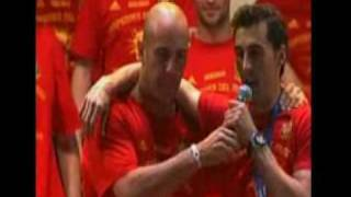 SPAIN 2010 World Cup Champions MASSIVE Celebration in Madrid with all the players