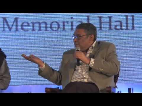 Javed Akhtar, Ruskin Bond, Swapan Dasgupta, Barkha Dutt at Kolkata Literary Meet 2016